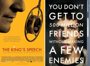 The King's speech / The Social network