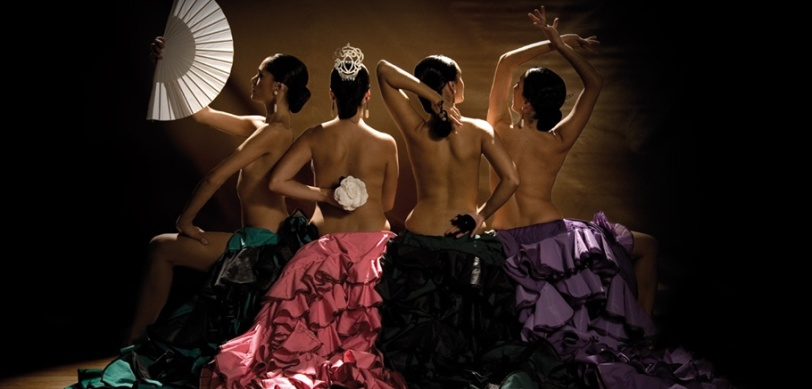 Cuatro Raíces. Cartel promocional de las chicas de Cuatro Raíces
