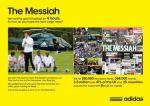 Adidas The Messiah - Street Marketing - comunica2punto0
