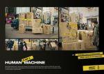 Amnesty International Human is not a machine - Street Marketing - comunica2punto0