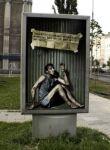 amnesty international outdoor - street marketing - comunica2punto0