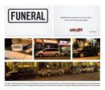 Arrive Alive Canada Parked Procession - Street Marketing - comunica2punto0