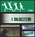 axe - Street Marketing - comunica2punto0