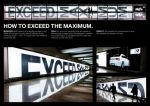 BMW M3 Coupe - The Light Wall Reflection - Street Marketing - comunica2punto0