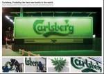 carlsberg bottles - Street Marketing - comunica2punto0
