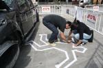 Dummies contra el intrusismo laboral dejad los accidentes para nosotros - Street Marketing - comunica2punto0