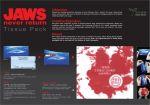 Green Sense - Jaws never return Tissue Pack - Street Marketing - comunica2punto0
