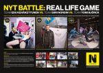 Helsingin Sanomat - Nyt Battle, Real life game - Street Marketing - comunica2punto0