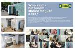 IKEA Who said a bathroom should be just a loo - Street Marketing - comunica2punto0