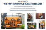 ING Direct - Human Billboards - Street Marketing
