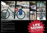israel cancer bike - Street Marketing - comunica2punto0
