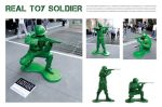 Limited Edition Collectible Toys - Real Toy Soldier - Street Marketing - comunica2punto0