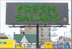 mcdonalds salad - Street Marketing - comunica2punto0