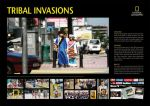 National Geographic Store Tribal Invasions - Street Marketing - comunica2punto0