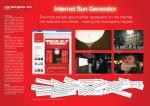Norwegian Airlines - Internet Sun Generator - Street Marketing - comunica2punto0