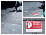 People are Fragile Quick Bite - Street Marketing - comunica2punto0