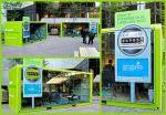 Power Smart Month, BC Hydro - Smart Condo Crates - Street marketing - comunica2punto0