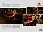 Republic of Chicken - Fire Scooter - Street Marketing - comunica2punto0
