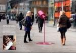 rimmel - street marketing - comunica2punto0