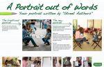 Steimatzky Book Chain - A portrait out of words - Street Marketing - comuncia2punto0