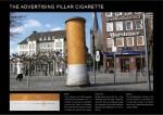 the ad pillar cigarette - Street Marketing - comunica2punto0