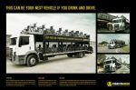 Trânsito Amigo - Car carrier truck - Street Marketing - comunica2punto0