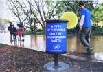 world water day - street marketing - comunica2punto0