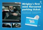 Wrigley's Extra Polar Fresh - Mint Parking Ticket - Street Marketing - comunica2punto0