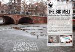 WWF Netherlands The Big Melt - Street Marketing - comunica2punto0