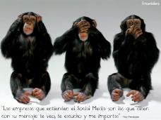 Las empresas que entienden el Social Media son las que dicen con su mensaje te veo, te escucho y me importas -Trey Pennington