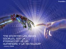 Me encantan las redes sociales, son la intersección de la humanidad y la tecnología -Jeremy Waite